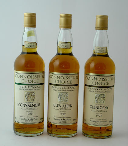 Convalmore-1969<BR /> Glen Albyn-1972<BR /> Glenlochy-1977