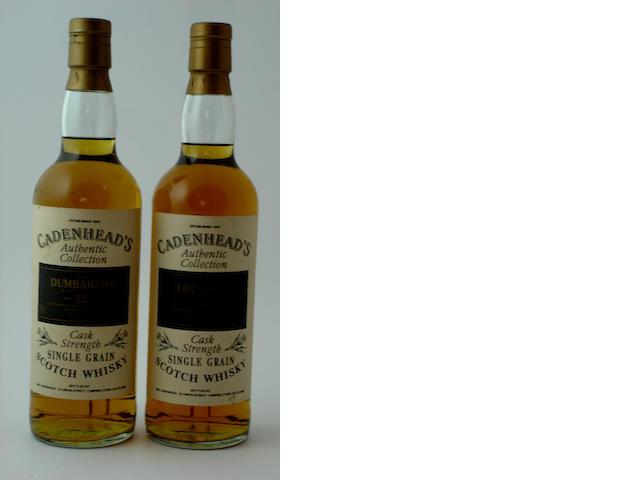 Dumbarton-32 year old-1962<BR /> Lochside-31 year old-1962