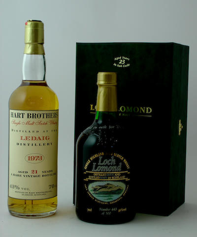 Ledaig-21 year old-1973<BR /> Loch Lomond-23 year old-1974