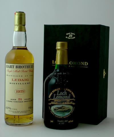 Ledaig-21 year old-1973<BR /> Loch Lomond-23 year old-1974
