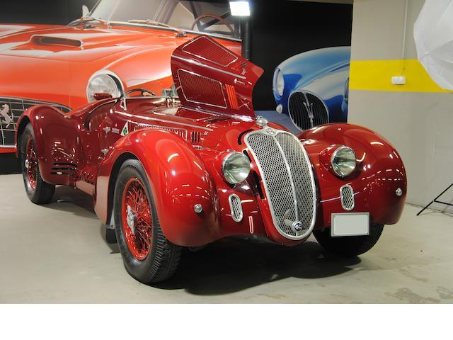 Former Mille Miglia Retrospective participant in 2000,1942  Alfa Romeo  6C 2500 3rd Series Sport  Chassis no. 915.134 Engine no. SS923934