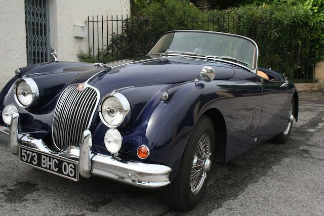 1958 Jaguar XK 150 OTS  Chassis no. S830770 Engine no. V4528-8