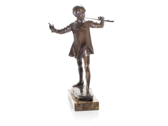 George Frampton Bronze - Peter Pan