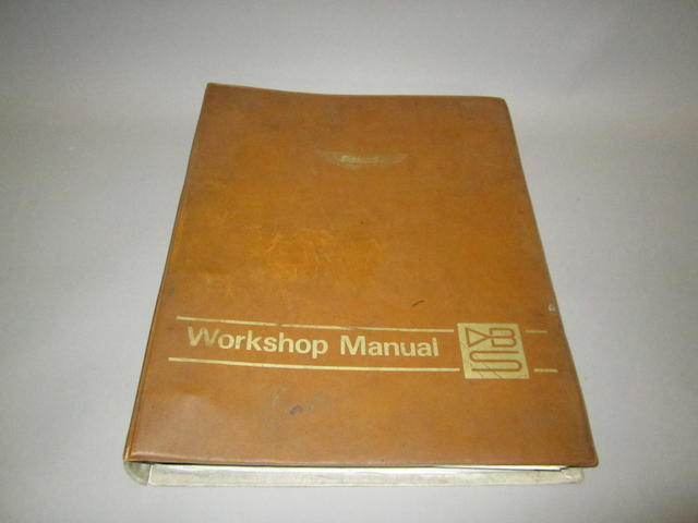 An Aston Martin DBS V8 Workshop Manual,