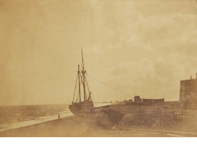 FENTON (ROGER)  'On the Beach, Hythe, 1860', [c.1860]