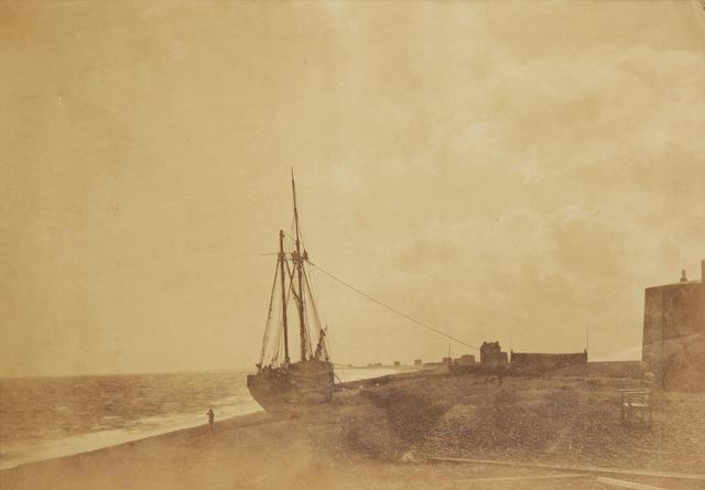 FENTON (ROGER)  'On the Beach, Hythe, 1860', [c.1860]