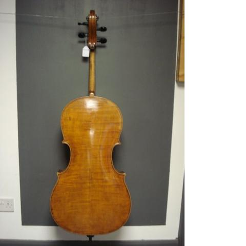 A Cello of the Thir School circa 1900 (2)