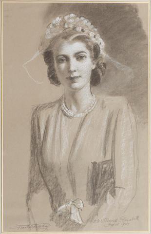 Frank O. Salisbury (British, 1874-1962) H.R.H. Princess Elizabeth