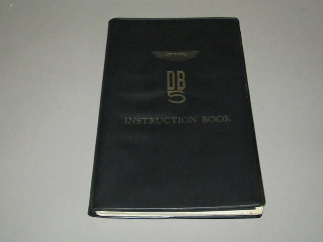 An Aston Martin DB5 Instruction Book,
