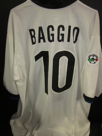 1998/99 Roberto Baggio Inter Milan shirt