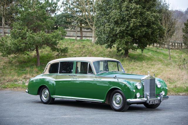 1962 Rolls-Royce Phantom V Reg XFO 820