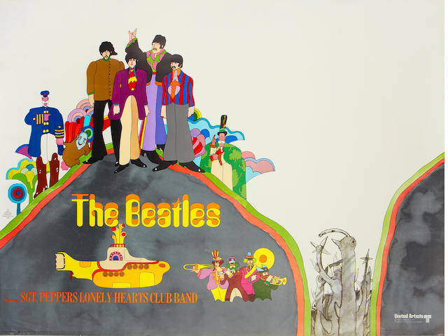 Yellow Submarine, United Artists, 1968,