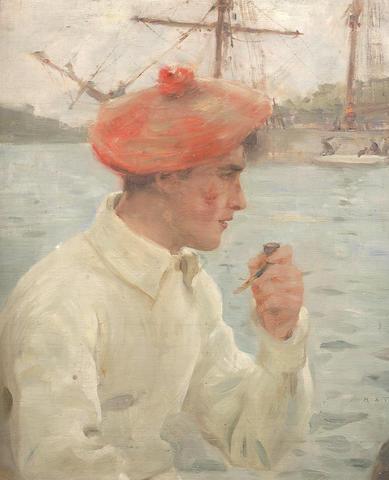 Henry Scott Tuke, RA, RWS (British, 1858-1929) A young sailor