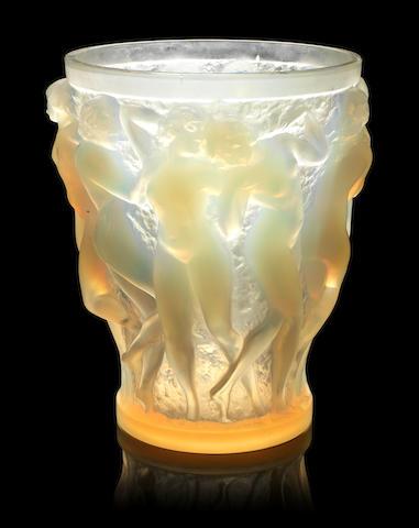 Opalescent Bacchantes vase
