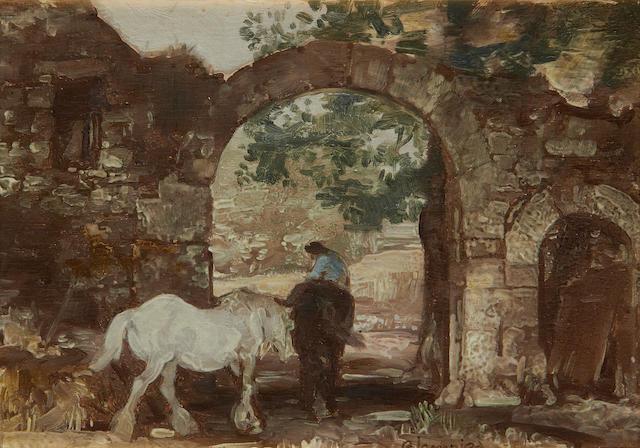 Edmund Blampied (Jersey, 1886-1966) The Archway