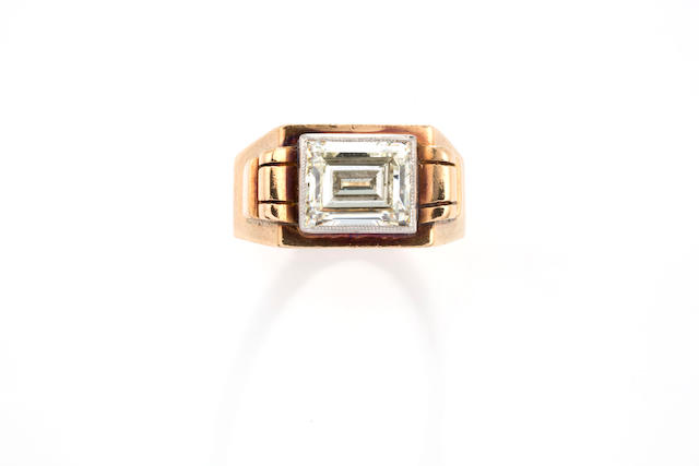 A retro diamond ring,