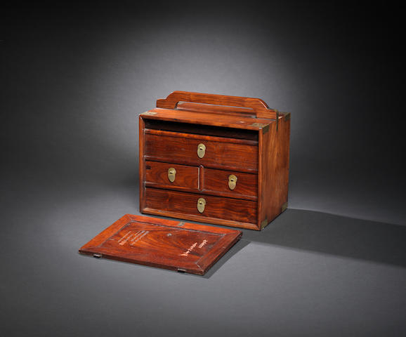 A huanghuali medicine chest Qing dynasty