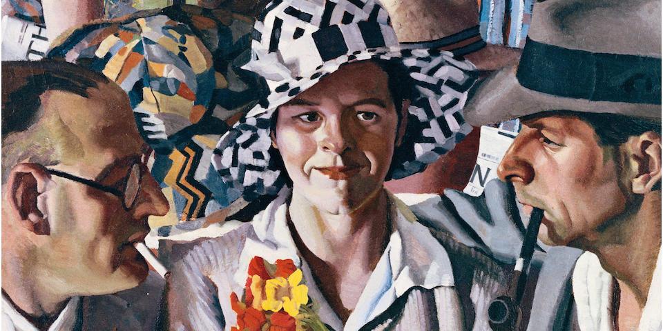 Herbert Badham (1899-1961) Travellers 1933