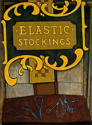 John Brack (1920-1999) Elastic stockings 1965