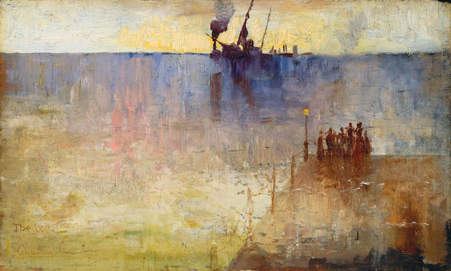 Charles  Conder (1868-1909) The wreck 1889