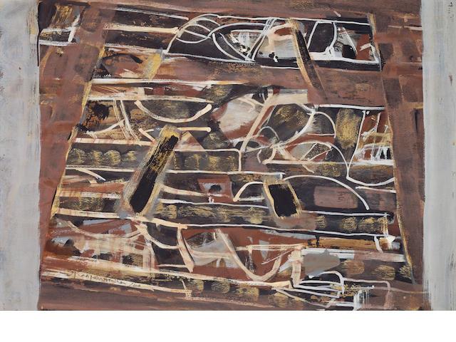 Ian Fairweather (1891-1974) Painting XI 1960