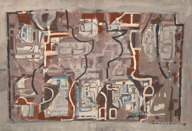 Ian Fairweather (1891-1974) Gamelan 1958