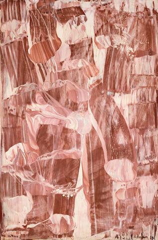 Ralph Balson (1890-1964) Matter painting 1962