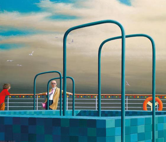 Jeffrey Smart (born 1921) Luxury cruise 1972-73