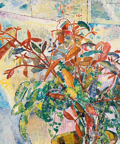 Grace Cossington Smith (1892-1984) Flower piece 1943