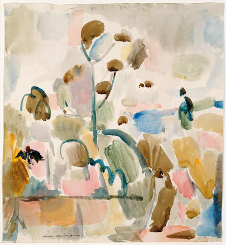 Fred Williams (1927-1982) Young gum, Foster's garden, Summer 1961