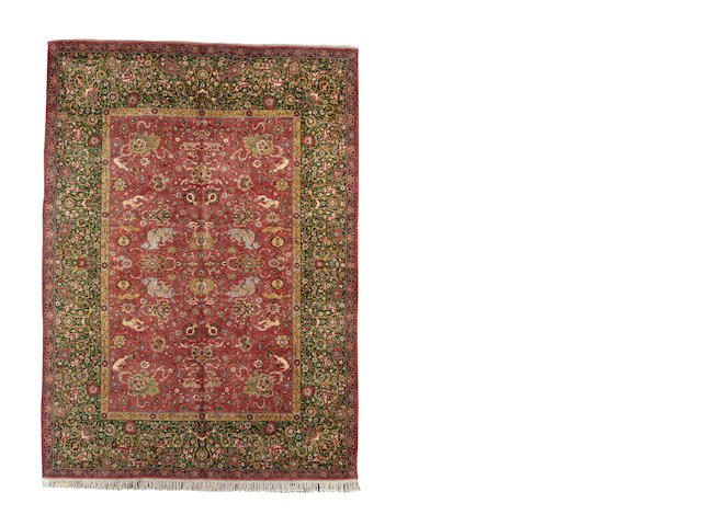 An Anatolian carpet of Persian design, 430cm x 313cm