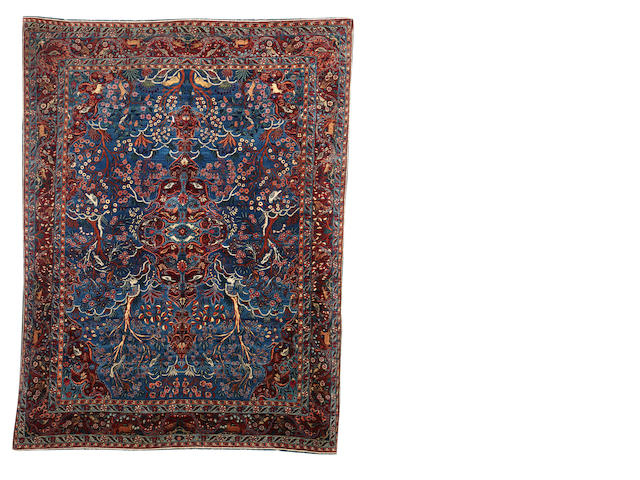 A Kirman carpet, South East Persia, 330cm x 262cm