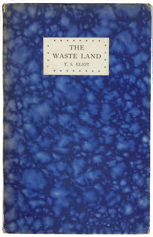 ELIOT (T.S.)  The Waste Land, 1923