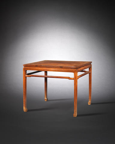 A huanghuali card table Late Ming / early Qing dynasty