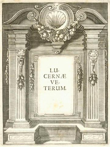 FABRICIUS (WOLFGANG AMBROSIUS) Lucernae veterum, 1653