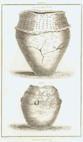 ARCHEOLOGY - DÜNNHAUPT (JOHANN CHRISTIAN) Beiträge zur Deutschen Niedersächsischen geschichte und deren alterthümern, 1778; MILES (WILLIAM AUGUSTUS) FIRST EDITION, A Description of the Deverel Barrow opened A.D. 1825..., 1826; BOUCHER DE PERTHES (JACQUES) Rien ne nait, rien ne meurt. La forme seule est périssable, 1865; and 2 others (5)