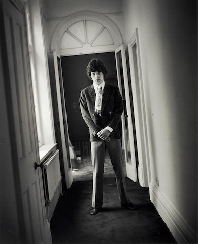 Gered Mankowitz (British b.1946): Mick Jagger / The Rolling Stones,