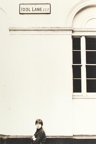 Robert Freeman photograph - Paul On Idol Lane