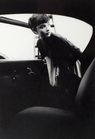 Bob Willoughby photograph - Audrey Hepburn