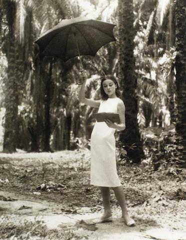 Leo Fuchs photograph - Audrey Hepburn