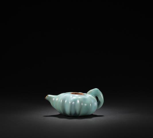 A rare Junyao ewer Jin / Yuan dynasty