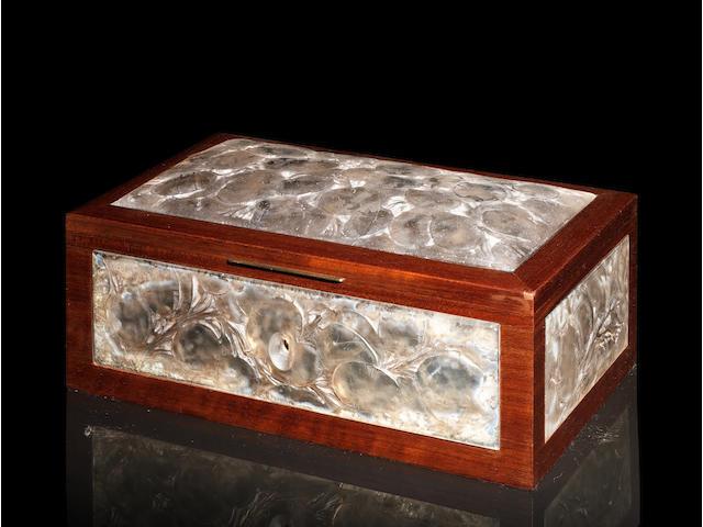 René Lalique (1860-1945) 'Monnaie Du Pape' a Box, design 1914