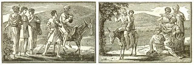 ENGRAVING - DUPLAT PROCESS LA FONTAINE (JEAN DE) Fables, 2 vol., 1811