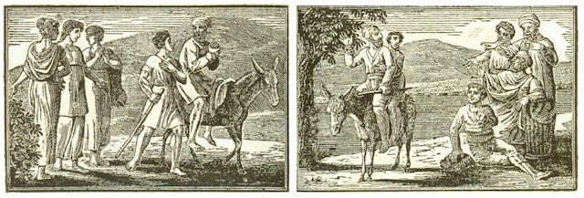 ENGRAVING - DUPLAT PROCESS LA FONTAINE (JEAN DE) Fables, 2 vol., 1811