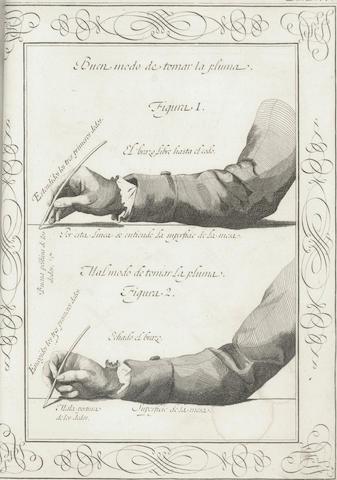 PALOMARES (FRANCISCO XAVIER DE SANTIAGO) Arte nueva de escribir, 1776