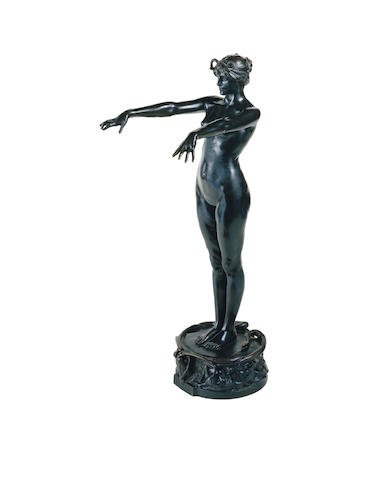 Bertram Mackennal (1863-1931) Circe 57cm (22 7/16in.) high