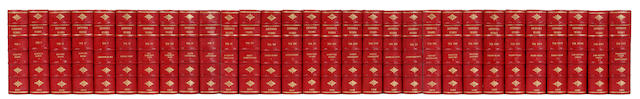 DICKENS (CHARLES) The Works, 30 vol., EDITION DE LUXE, NUMBER 567 OF 1000 COPIES, 1881-1882