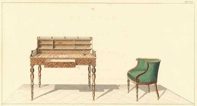 KIMBEL (WILHELM) Journal für möbelschreiner und tapezirer, 1837