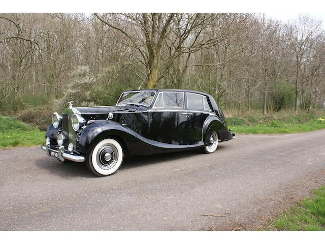 1952 Rolls-Royce Silver Wraith Touring Limousine
