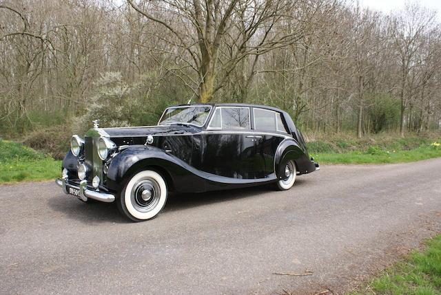 1952 Rolls-Royce Silver Wraith Touring Limousine